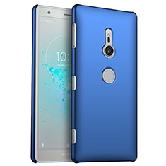 Funda Dura Plastico Rigida Carcasa Mate M03 para Sony Xperia XZ2 Azul