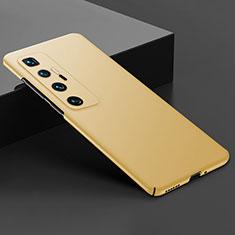 Funda Dura Plastico Rigida Carcasa Mate M03 para Xiaomi Mi 10 Ultra Oro