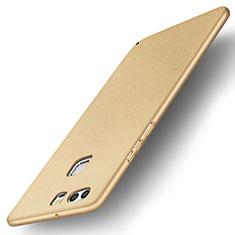 Funda Dura Plastico Rigida Carcasa Mate M04 para Huawei P9 Plus Oro