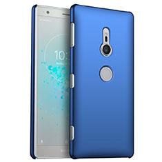 Funda Dura Plastico Rigida Carcasa Mate M04 para Sony Xperia XZ2 Azul