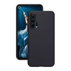 Funda Dura Plastico Rigida Carcasa Mate P01 para Huawei Honor 20 Pro Negro