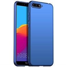 Funda Dura Plastico Rigida Carcasa Mate P01 para Huawei Honor 7A Azul