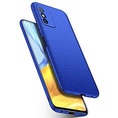 Funda Dura Plastico Rigida Carcasa Mate P01 para Huawei Honor X10 Max 5G Azul