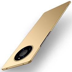 Funda Dura Plastico Rigida Carcasa Mate P01 para Huawei Mate 40 Pro Oro