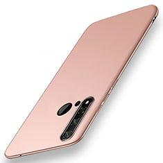 Funda Dura Plastico Rigida Carcasa Mate P01 para Huawei Nova 5i Oro Rosa