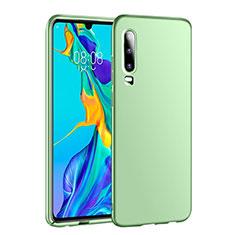 Funda Dura Plastico Rigida Carcasa Mate P01 para Huawei P30 Verde