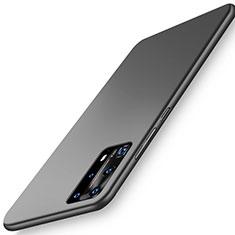 Funda Dura Plastico Rigida Carcasa Mate P01 para Huawei P40 Pro+ Plus Negro