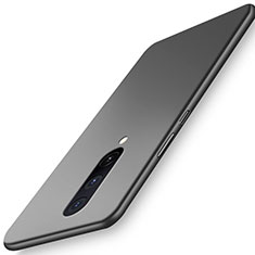 Funda Dura Plastico Rigida Carcasa Mate P01 para OnePlus 8 Negro