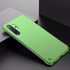 Funda Dura Plastico Rigida Carcasa Mate P01 para Samsung Galaxy Note 10 Plus 5G Verde