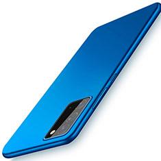 Funda Dura Plastico Rigida Carcasa Mate P01 para Samsung Galaxy Note 20 5G Azul