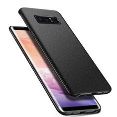 Funda Dura Plastico Rigida Carcasa Mate P01 para Samsung Galaxy Note 8 Duos N950F Negro