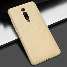 Funda Dura Plastico Rigida Carcasa Mate P01 para Xiaomi Mi 9T Pro Oro