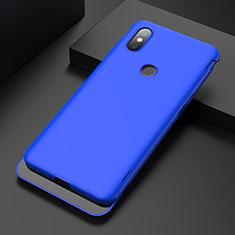 Funda Dura Plastico Rigida Carcasa Mate P01 para Xiaomi Mi Mix 3 Azul