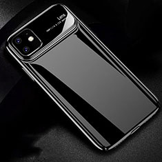 Funda Dura Plastico Rigida Carcasa Mate P02 para Apple iPhone 11 Negro