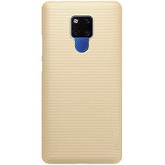 Funda Dura Plastico Rigida Carcasa Mate P02 para Huawei Mate 20 Oro