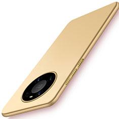 Funda Dura Plastico Rigida Carcasa Mate P02 para Huawei Mate 40 Oro