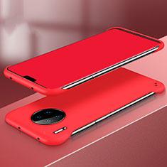Funda Dura Plastico Rigida Carcasa Mate P03 para Huawei Mate 30 Rojo