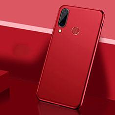 Funda Dura Plastico Rigida Carcasa Mate P03 para Huawei P30 Lite Rojo