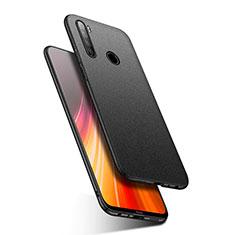 Funda Dura Plastico Rigida Carcasa Mate P03 para Xiaomi Redmi Note 8 Negro