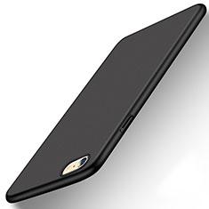 Funda Dura Plastico Rigida Carcasa Mate P08 para Apple iPhone 6S Negro
