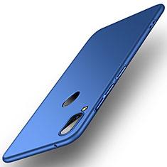 Funda Dura Plastico Rigida Carcasa Mate R01 para Huawei Y9 (2019) Azul