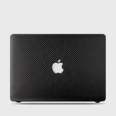 Funda Dura Plastico Rigida Carcasa Mate Twill para Apple MacBook Air 13 pulgadas (2020) Negro