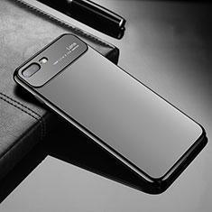 Funda Dura Plastico Rigida Carcasa Mate Z01 para Apple iPhone 8 Plus Negro