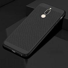 Funda Dura Plastico Rigida Carcasa Perforada para Huawei Mate 10 Lite Negro