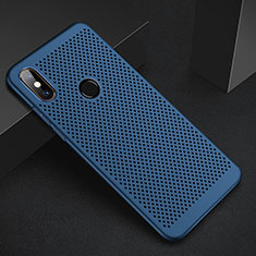 Funda Dura Plastico Rigida Carcasa Perforada para Xiaomi Mi 6X Azul
