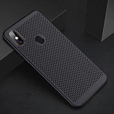 Funda Dura Plastico Rigida Carcasa Perforada para Xiaomi Redmi 6 Pro Negro