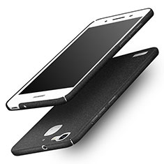 Funda Dura Plastico Rigida Fino Arenisca para Huawei Enjoy 5S Negro