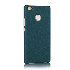 Funda Dura Plastico Rigida Fino Arenisca para Huawei G9 Lite Azul