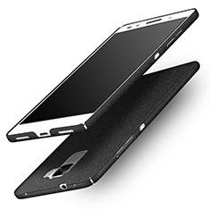 Funda Dura Plastico Rigida Fino Arenisca para Huawei Honor 7 Negro