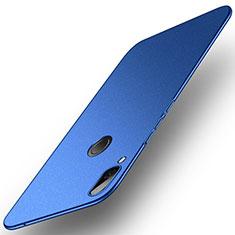 Funda Dura Plastico Rigida Fino Arenisca para Huawei Honor Play Azul