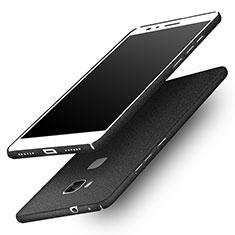Funda Dura Plastico Rigida Fino Arenisca para Huawei Honor X5 Negro