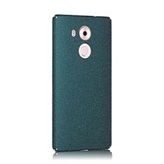 Funda Dura Plastico Rigida Fino Arenisca para Huawei Mate 8 Verde