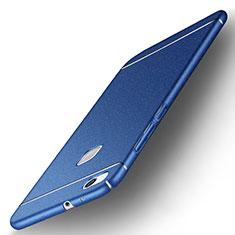 Funda Dura Plastico Rigida Fino Arenisca para Huawei P10 Lite Azul