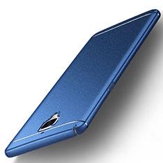 Funda Dura Plastico Rigida Fino Arenisca para OnePlus 3 Azul