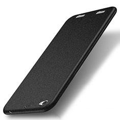 Funda Dura Plastico Rigida Fino Arenisca para Xiaomi Mi Pad 3 Negro