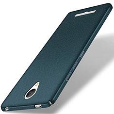 Funda Dura Plastico Rigida Fino Arenisca para Xiaomi Redmi Note 2 Verde