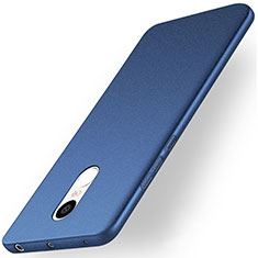 Funda Dura Plastico Rigida Fino Arenisca para Xiaomi Redmi Note 4X High Edition Azul