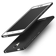 Funda Dura Plastico Rigida Fino Arenisca Q01 para Xiaomi Redmi Note 2 Negro