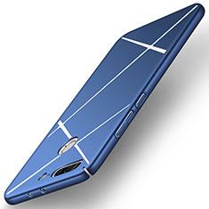 Funda Dura Plastico Rigida Line para Huawei Honor 9 Lite Azul