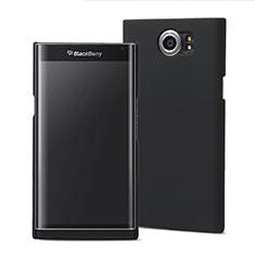 Funda Dura Plastico Rigida Mate M01 para Blackberry Priv Negro