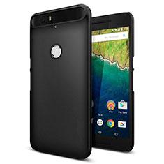 Funda Dura Plastico Rigida Mate M01 para Google Nexus 6P Negro