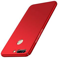 Funda Dura Plastico Rigida Mate M01 para Huawei Honor 8 Pro Rojo