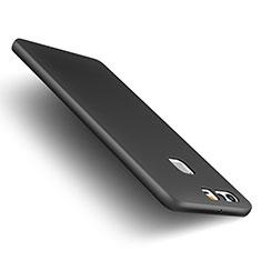Funda Dura Plastico Rigida Mate M01 para Huawei P9 Plus Negro