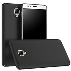 Funda Dura Plastico Rigida Mate M01 para OnePlus 3 Negro