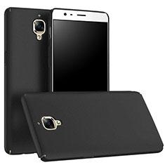 Funda Dura Plastico Rigida Mate M01 para OnePlus 3T Negro