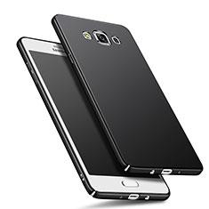 Funda Dura Plastico Rigida Mate M01 para Samsung Galaxy A5 Duos SM-500F Negro